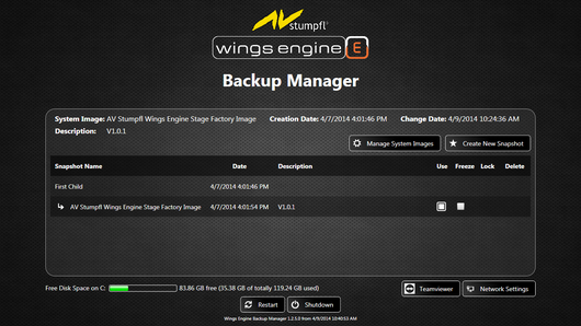 [Translate to Deutsch:] Backup Manager Wings Engine